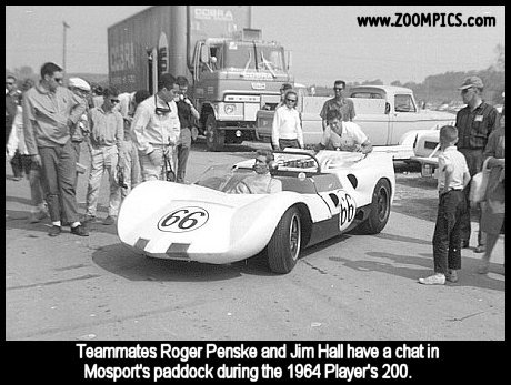 Jim Hall, Roger Penske and the Chaparral 2A