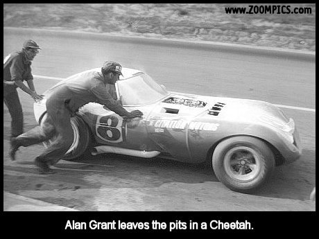 Alan Grant and the Cheetah