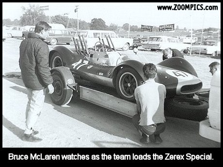Bruce McLaren and the Zerex Special