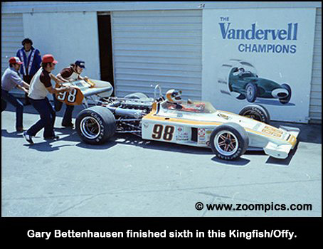 Gary Bettenhausen finished six in this Kingfish/Offy.